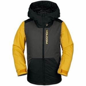 Volcom VERNON INS JACKET černá S - Chlapecká lyžařská/snowboardová bunda