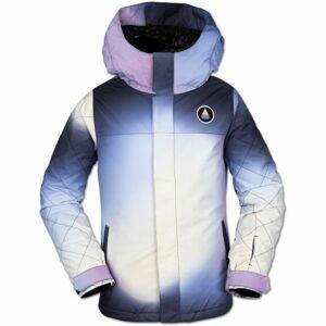 Volcom SASS'N'FRAS INS JKT bílá M - Dívčí lyžařská/snowboardová bunda