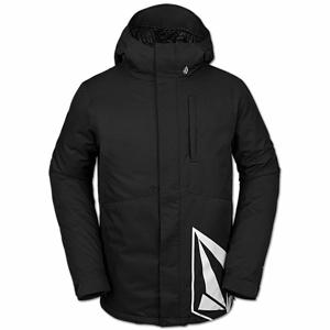 Volcom 17FORTY INS JACKET černá XL - Pánská lyžařská/snowboardová bunda