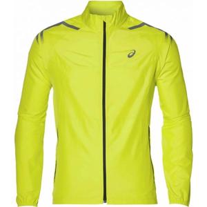 Asics ICON JACKET žlutá XXL - Pánská běžecká bunda
