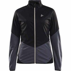 Craft GLIDE černá L - Dámská softshellová bunda