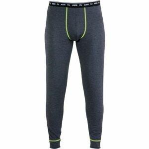 Axis TERMO KALHOTY M tmavě šedá XL - Pánské termo kalhoty