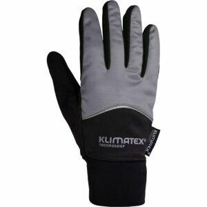 Klimatex DIOGO šedá XXL - Softshellové rukavice