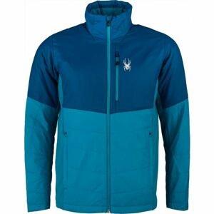 Spyder M GLISSADE HYBRID modrá L - Pánská bunda