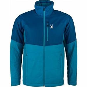 Spyder M GLISSADE HYBRID modrá XXL - Pánská bunda