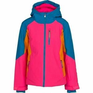 Spyder GIRLS PIONEER růžová 12 - Dívčí bunda