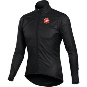 Castelli SQUADRA LONG JACKET černá S - Pánská cyklistická bunda