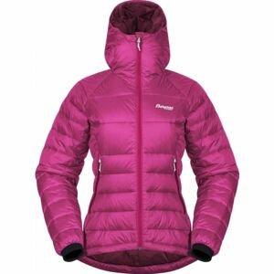 Bergans SLINGSBY DOWN LT růžová M - Dámská péřová bunda