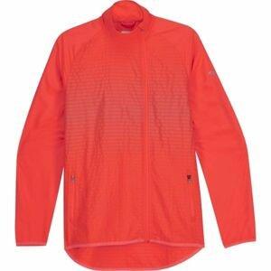 Saucony SONIC REFLEX JACKET červená L - Dámská běžecká bunda