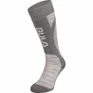 Bula SMOKE SKI SOCKS modrá M - Lyžařské ponožky