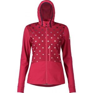Maloja NESHAM růžová M - Dámská bunda na běžky