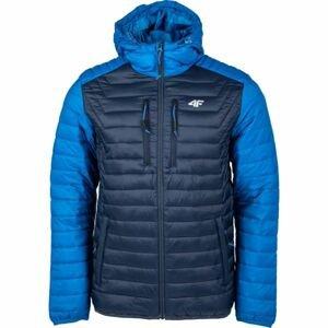 4F MEN´S JACKET tmavě modrá M - Pánská bunda