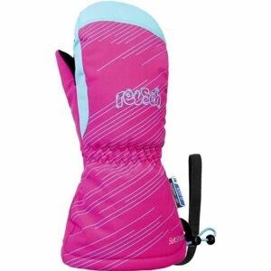 Reusch MAXI R-TEX XT MITTEN růžová 1 - Lyžařské rukavice