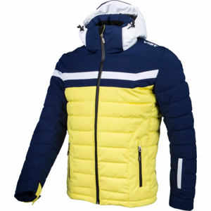 Vist ICE STORM DOWN SKI JACKET žlutá S - Pánská zimní bunda