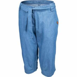 Willard CARI modrá 42 - Dámské plátěné 3/4 kalhoty
