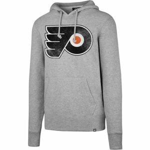 47 NHL Philadelphia Flyers Knockaround '47 HEADLINE šedá L - Pánská mikina