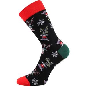 Boma N03059 S-PATTE černá 35 - 38 - Vánoční ponožky