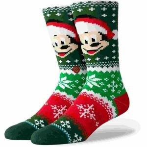 Stance MICKEY CLAUS zelená M - Pánské ponožky
