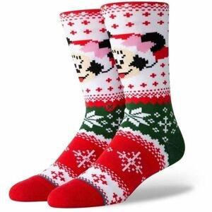 Stance MINNIE CLAUS bílá L - Pánské ponožky