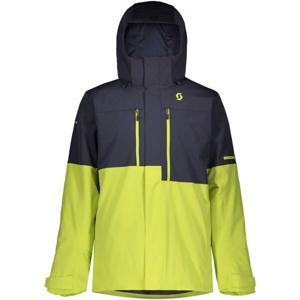 Scott ULTIMATE DRYO 10 JACKET zelená S - Pánská lyžařská bunda