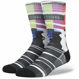 Stance NO SIGNAL MULTI černá M - Pánské ponožky