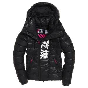 Superdry SPORT CHINOOK JKT černá 10 - Dámská zimní bunda