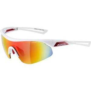 Alpina Sports NYLOS SHIELD bílá NS - Unisex sluneční brýle