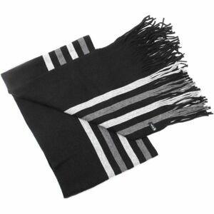 Finmark ZIMNÍ ŠÁLA černá UNI - Zimní pletená šála