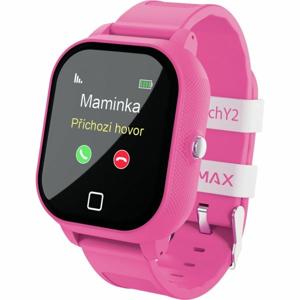 LAMAX WATCH Y2 růžová NS - Dětské chytré hodinky