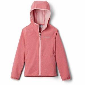 Columbia ROCKY RANGE SOFTSHELL světle růžová L - Dívčí softshellová bunda