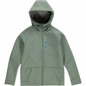 O'Neill PG GIRLS SOFTSHELL zelená 116 - Dívčí softshellová bunda