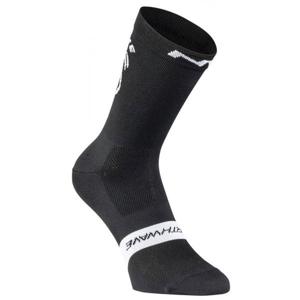 Northwave EAT MY DUST černá S - Cyklistické ponožky
