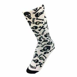 Rosti SKULL bílá  - Ponožky