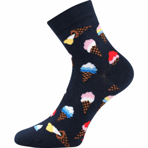 Boma PATTE 041 černá 35 - 38 - Vysoké ponožky