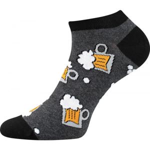 Boma PETTY 009 šedá 43 - 46 - Nízké ponožky