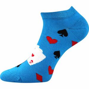 Boma PETTY 010 modrá 43 - 46 - Nízké ponožky