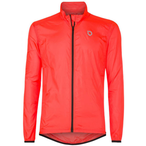Briko FRESH PACKABLE oranžová 3xl - Lehká cyklistická bunda