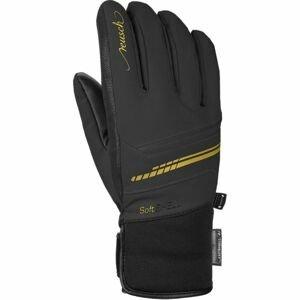 Reusch TOMKE STORMBLOXX černá 7,5 - Lyžařské rukavice