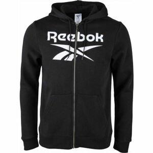 Reebok FLEECE FULL-ZIP HOODIE M  2XL - Pánská mikina