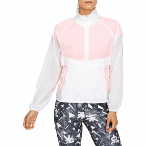 Asics FUTURE TOKYO JACKET bílá XL - Dámská běžecká bunda