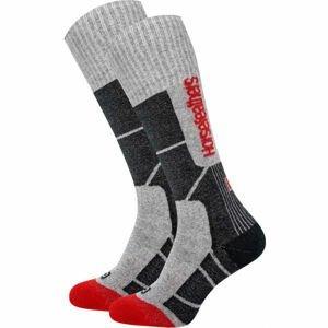 Horsefeathers SETH THERMOLITE SOCKS  41-44 - Pánské snowboardové ponožky