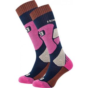Horsefeathers MAURA THERMOLITE SOCKS  37,5-38,5 - Dámské snowboardové ponožky