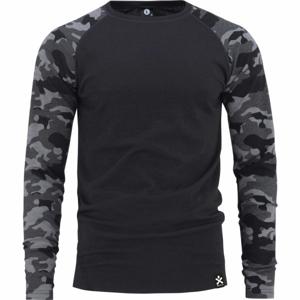 Bula CAMO MERINO WOOL CREW  XL - Pánské triko
