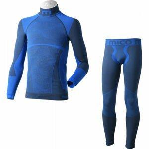 Mico KIDS SHIRT + TIGHT PANTS WARM  122-140 - Bezešvé funkční spodní prádlo