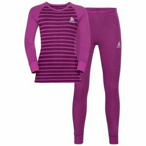 Odlo SET ACTIVE WARM KIDS  140 - Dětský set funkční prádla