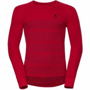 Odlo L/S CREW NECK GOD JUL PRINT  XL - Pánské funkční tričko