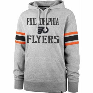 47 NHL PHILADELPHIA FLYERS DOUBLE BLOCK SLEEVE STRIPE HOOD  XL - Mikina