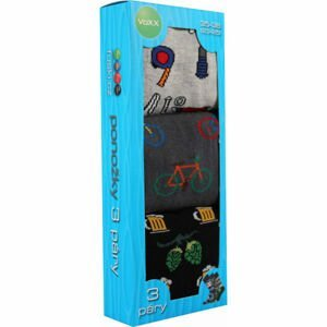 Voxx BOX 20 BLK  23-25 - Pánské ponožky