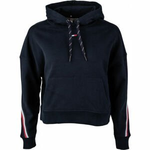 Tommy Hilfiger RELAXED TAPE HOODIE LS  S - Dámská mikina