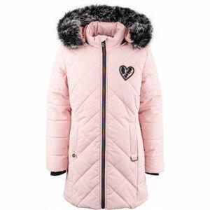 Lewro ALVA  116-122 - Dívčí zimní kabát